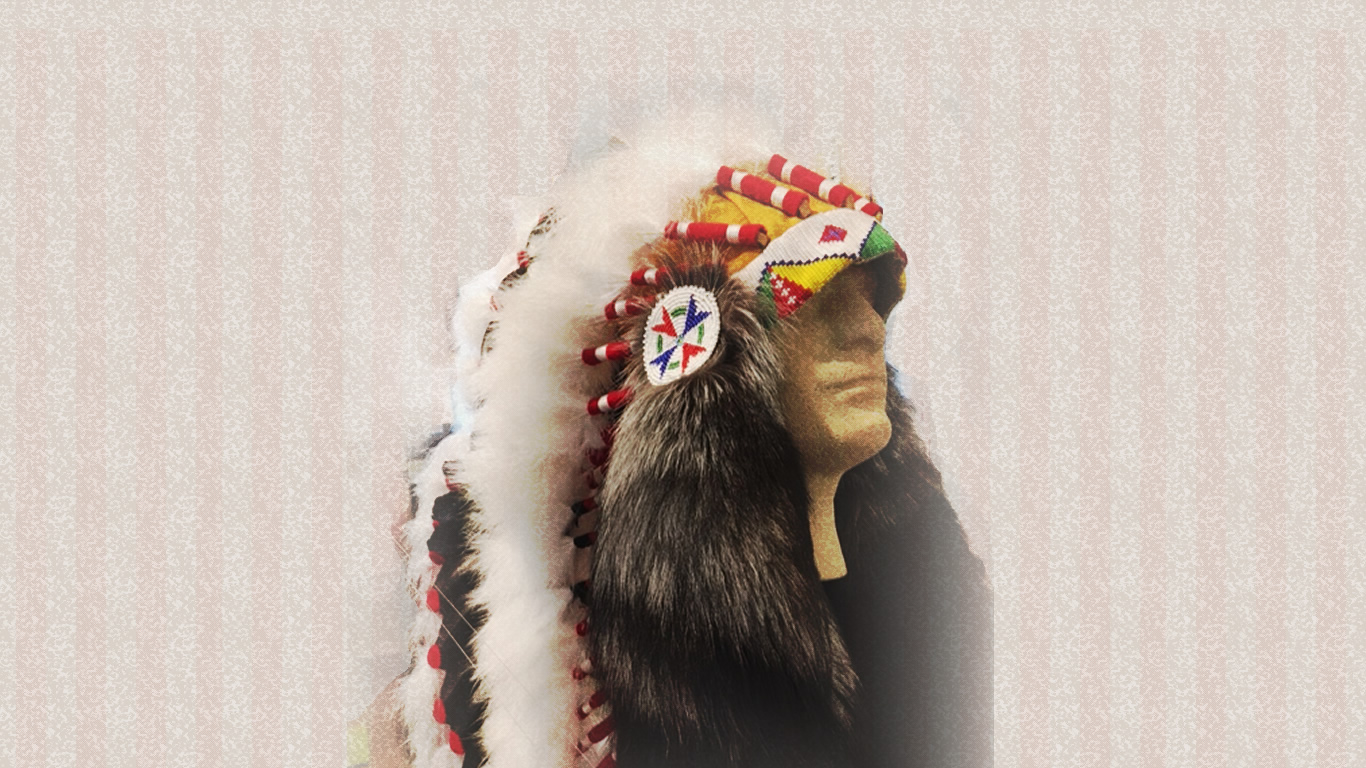 Comanche War Bonnet - New to Time Traveler
